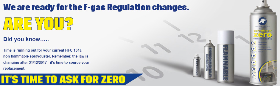 We are ready for the F-gas Regulaton changes. ARE YOU?